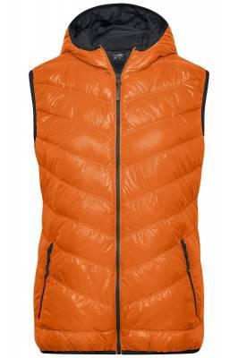 Damen Down Weste JN1061-orange-XXL
