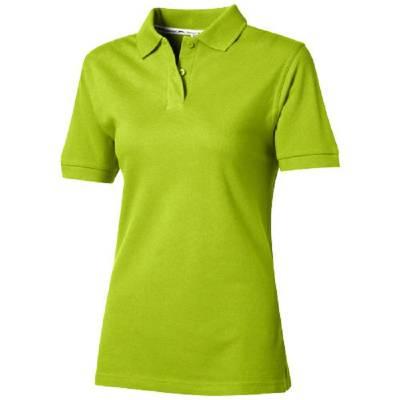 Forehand Damen Kurzarm Poloshirt-grün(apfelgrün)-L