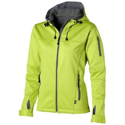 Slazenger Match Softshell Damen Jacke - apfelgrün - grau - XL