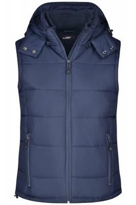 Damen Padded Weste JN1005-blau(navyblau)-S