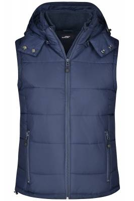 Damen Padded Weste JN1005-blau(navyblau)-XL