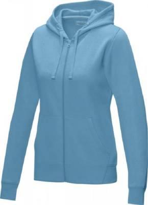 Damen Ruby Hoodie mit Reißverschluss Bio Material-blau(hellblau)-XS