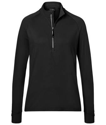 Damen Sports  Shirt Half-Zip JN787