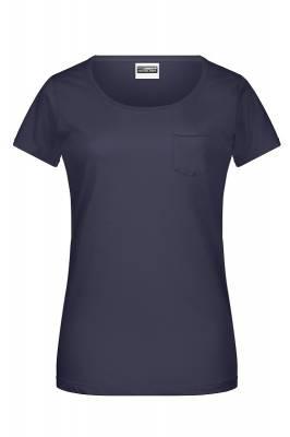 Damen-T Pocket 8003-blau(navyblau)-XL