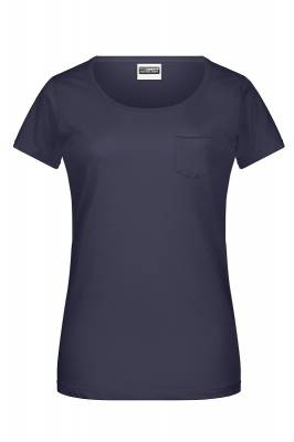 Damen-T Pocket 8003-blau(navyblau)-XXL