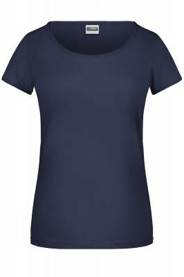 Damen T-Shirt 8001-blau(navyblau)-S