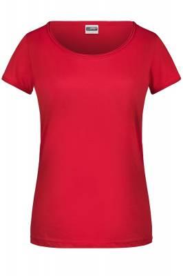 Damen T-Shirt 8001-rot-XL