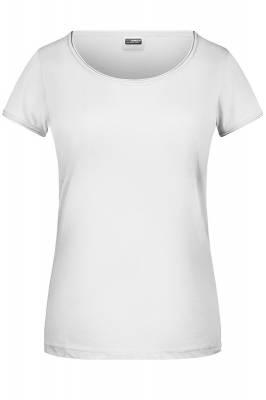 Damen T-Shirt 8001-weiß-XS