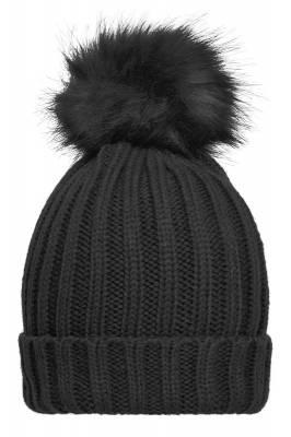 Damen Winter Beanie Caddy-schwarz-one size-female