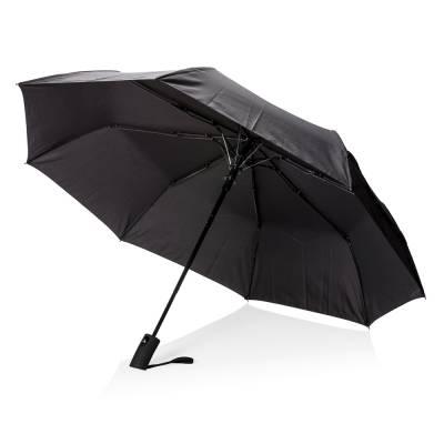 Deluxe 21 Zoll faltbarer Schirm Teupitz mit Automatiköffnung