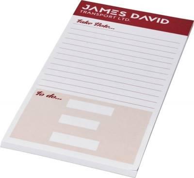 Desk-Mate 1/3 A4 Notizblock-weiß-50 Blatt