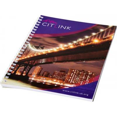 Desk-Mate A4 Notizbuch mit Spiralbindung