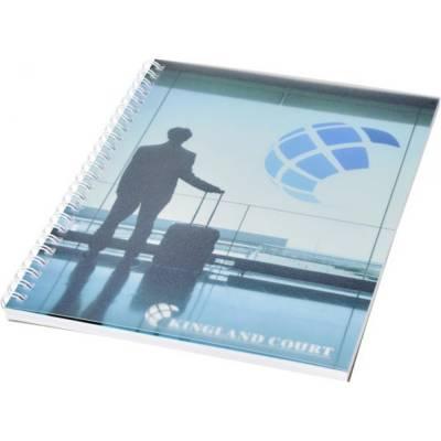 Desk-Mate A5 Notizbuch mit Kunststoff Cover und Spiralbindu