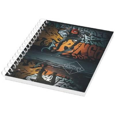 Desk-Mate® A6 Notizbuch Kunststoffumschlag