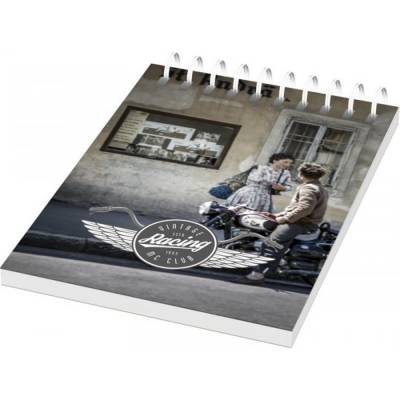 Desk-Mate A6 Notizbuch mit Kunststoff Cover und Spiralbindu