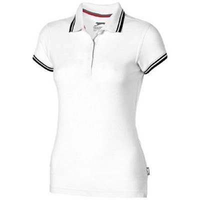 Slazenger Deuce Damen Poloshirt - weiß - M