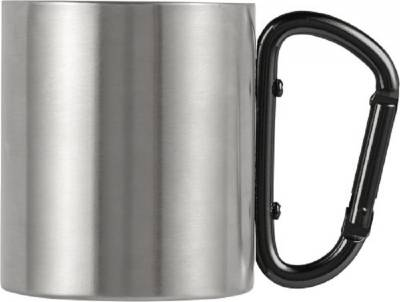 Doppelwandiger Kaffeebecher Carbine aus Edelstahl (200 ml)