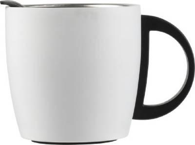 Doppelwandiger Kaffeebecher Cowboy aus Edelstahl (350 ml)