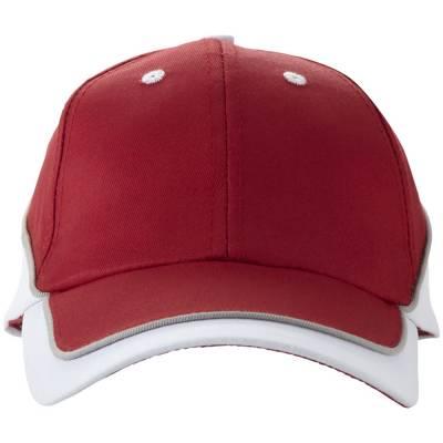 Slazenger Draw Kappe mit 6 Segmenten-weiß-one size