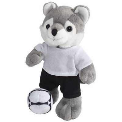 Dribble Plüsch Wolf mit T-Shirt