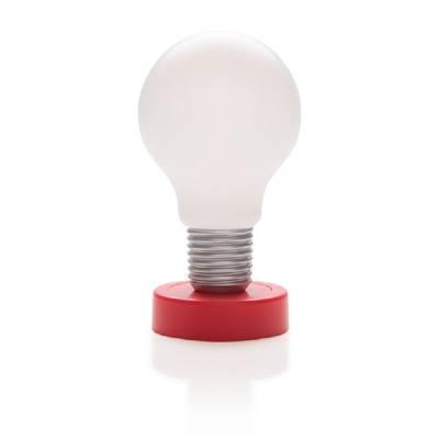 Drucklampe Glühbirne-rot