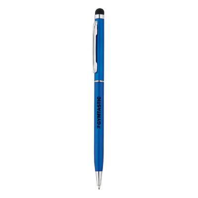 Dünner Metall Stylus - blau