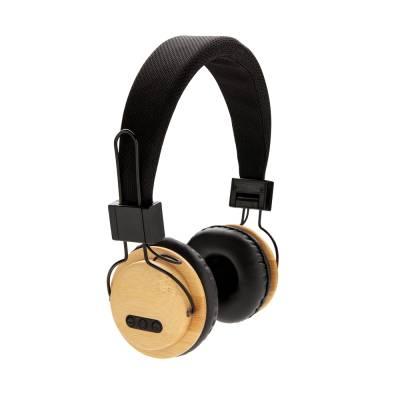 ECO Bambus kabelloser Kopfhörer Lindau-braun