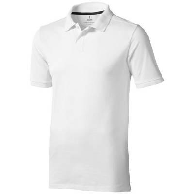 Calgary Kurzarm Poloshirt-weiß-S-weiß