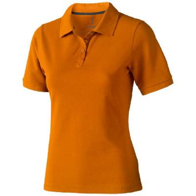 ELEVATE Damen Calgary Polo-orange-S-orange