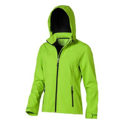 Langley Damen Softshell-Jacke-grün(apfelgrün)-S
