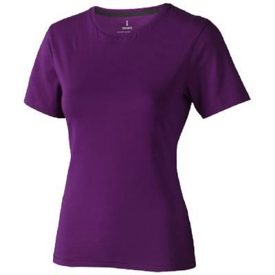 Nanaimo Damen Kurzarm T-Shirt-lila-S