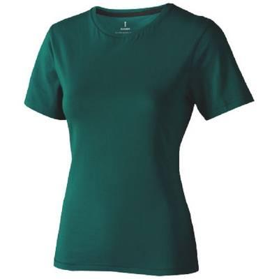 Nanaimo Damen Kurzarm T-Shirt-grün(waldgrün)-S