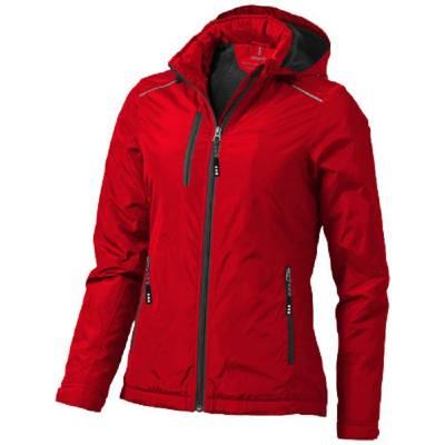 Smithers Damen Jacke mit Fleecefutter-rot-M