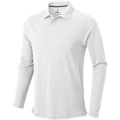 Elevate Oakville Langarm Herren Poloshirt