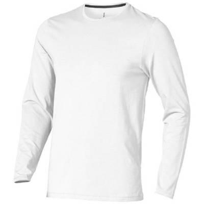 Ponoka Langarm Shirt-weiß-S