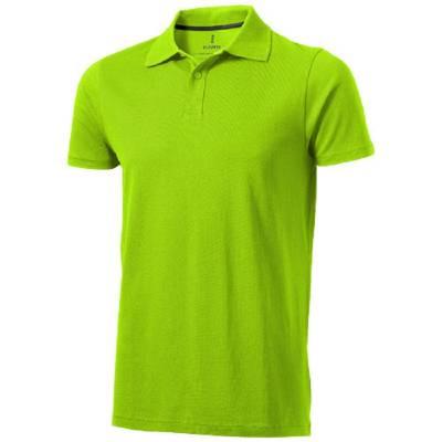 Seller Kurzarm Poloshirt-grün(apfelgrün)-XL