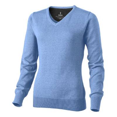 Elevate Spruce Damen Pullover V-Ausschnitt