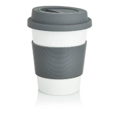 Eco Kaffeebecher - grau