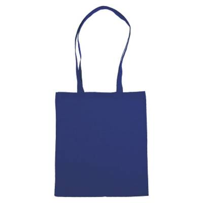 Einkaufstasche Hanau mit langen Henkeln-blau(dunkelblau)-Eigenlager
