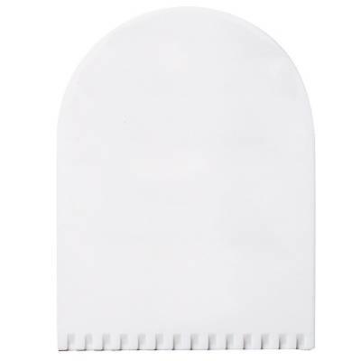 Eiskratzer Bogen - weiß