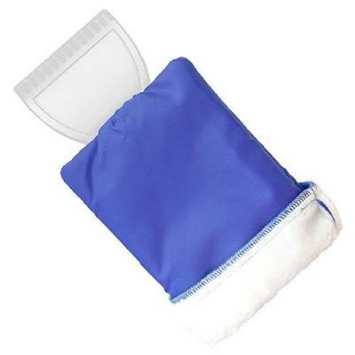 eiskratzer eishexe mit handschuh blau als werbeartikel. Black Bedroom Furniture Sets. Home Design Ideas