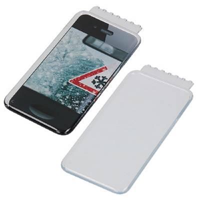 Eiskratzer Smartphone Kratzkante kurz-transparent
