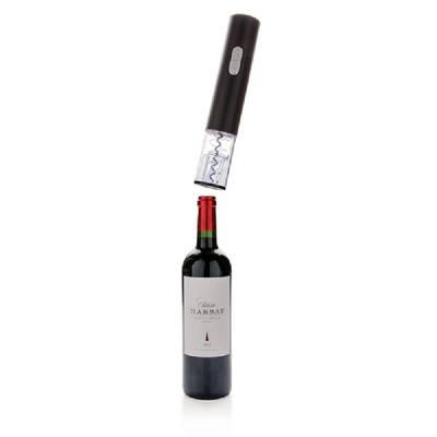 Elektronischer Weinöffner - Batterie betrieben - schwarz