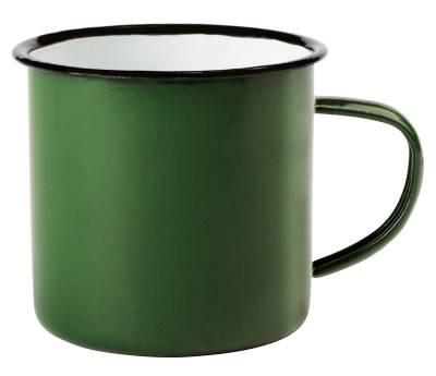 Emaille Becher RETRO CUP - grün