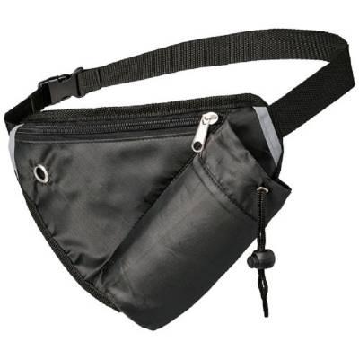 Erich Mehrzweck-Sporttasche mit Gürteltasche-schwarz
