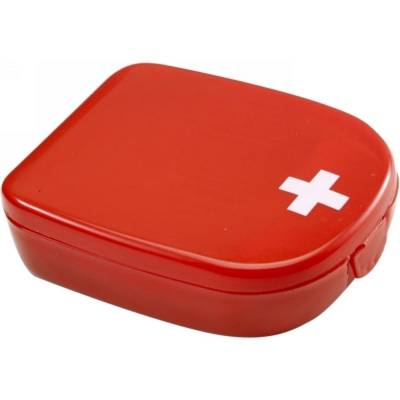 Erste-Hilfe-Set Gelderland in Kunststoffbox-rot-