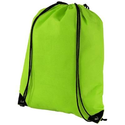 Evergreen Premium Non Woven Sportbeutel-grün(apfelgrün)