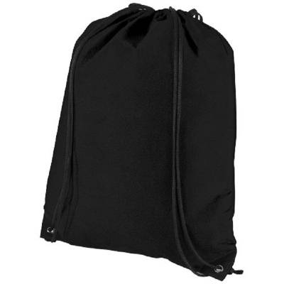 Evergreen Premium Non Woven Sportbeutel-schwarz
