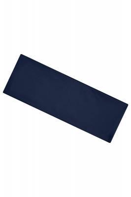 Extrabreites Stirnband Burn-blau(navyblau)-one size-unisex