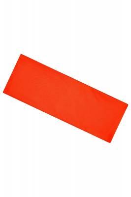 Extrabreites Stirnband Burn-orange(neonorange)-one size-unis